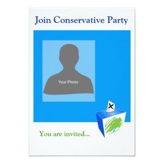 Invitation Template Conservative Party