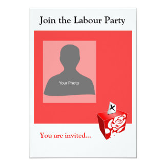 Invitation Template Labour Party