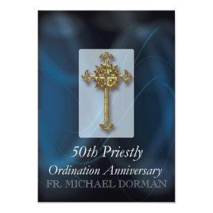 Ordination invitations announcements zazzle ca invitation to 50th ordination anniversary custom n stopboris Images