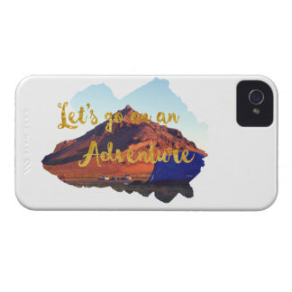 Invitation to adventure iPhone 4 cover