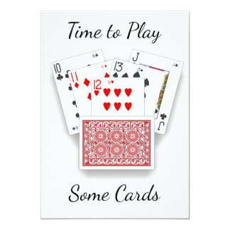 **INVITATION TO PLAY CARDS** CARD