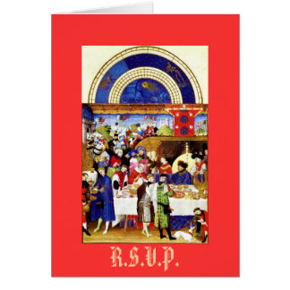 Invitation -  Tres Riches Heures du Duc de Berry
