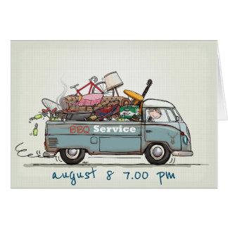 Invitation Vintage pickup