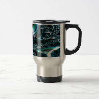 Invitational Perspicuity Fractal 2 Travel Mug