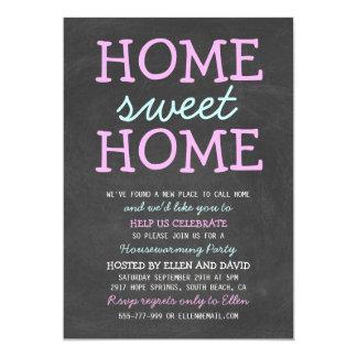 Invitations à la maison douces à la maison