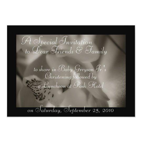 Invitations Baptism Christening Templates