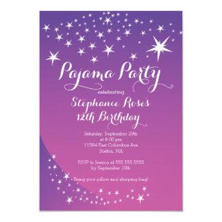 Invitations de fête d'anniversaire de partie de
