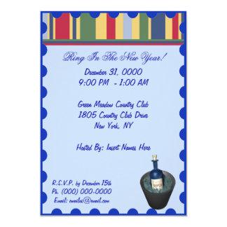 Invitations de la partie de nouvelle année
