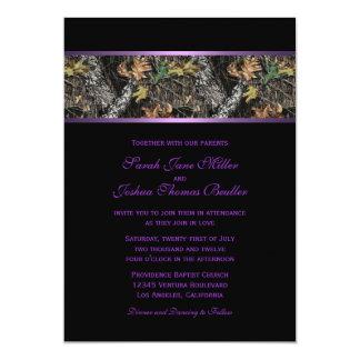 Invitations de mariage de Camo