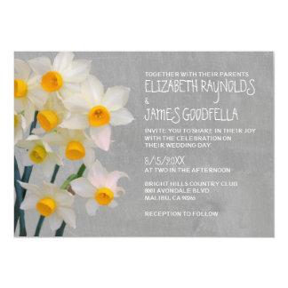 Invitations de mariage de Jonquil