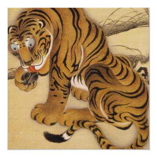 Invitations de tigre d'Ito Jakuchu