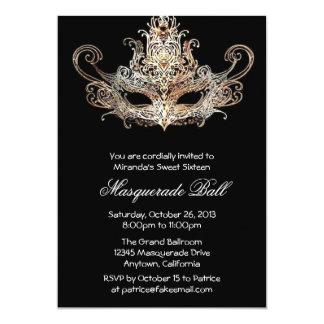 Invitations faites sur commande de boule de carton d'invitation  12,7 cm x 17,78 cm
