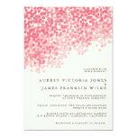 Invitations les épousant de la petite averse | de carton d'invitation  12,7 cm x 17,78 cm