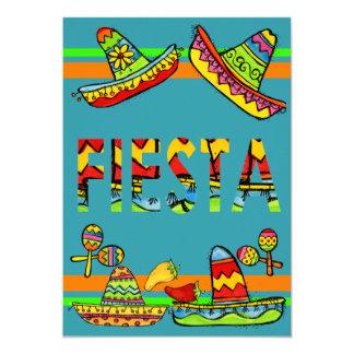 Invitations mexicaines de Cinco De Mayo de fiesta