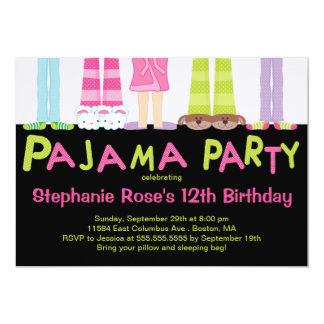Invitations mignonnes de fête d'anniversaire de carton d'invitation  12,7 cm x 17,78 cm