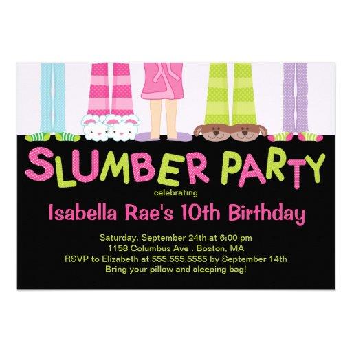 Invitations mignonnes de fête d'anniversaire de so