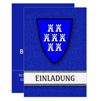 Invitations Transylvania blue