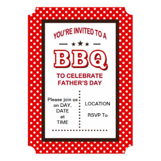 Invited! Father's Day Party Invitations