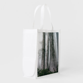 Invoking the Forest Reusable Grocery Bag