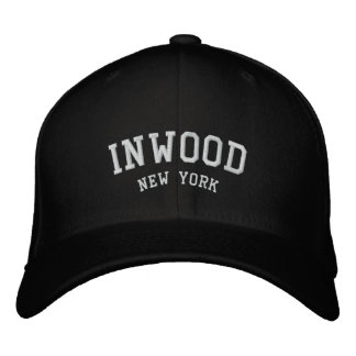 INWOOD, New york Embroidered Hat