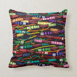 Inzanesane's Crayon Throw Pillow