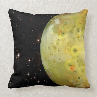 IO Moon Throw Pillow