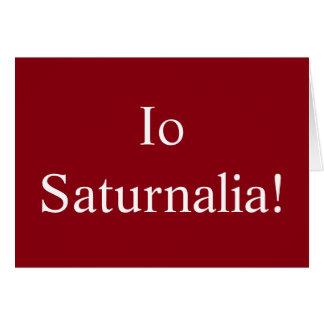 Io Saturnalia - Christmas Card