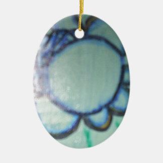 IOform Ceramic Oval Ornament