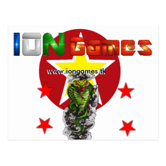 Ion Games Postcard