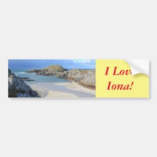 Iona Bumper Sticker