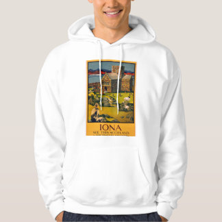 Iona - See this Scotland by MacBrayne's steamers Hoodie
