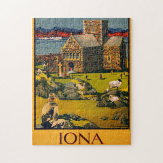Iona - See this Scotland by MacBrayne's steamers Puzzles