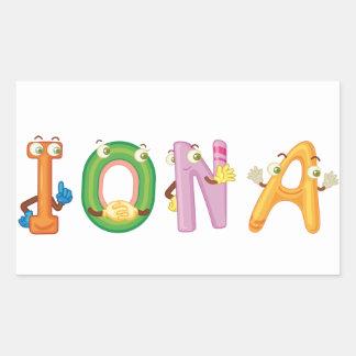 Iona Sticker
