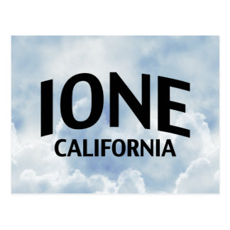 Ione California Postcard