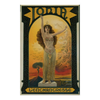 Ionia The Enchantress ~  Mysticism Magic Poster
