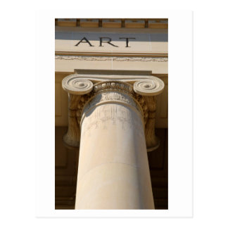 Ionic Capital Column Post Card