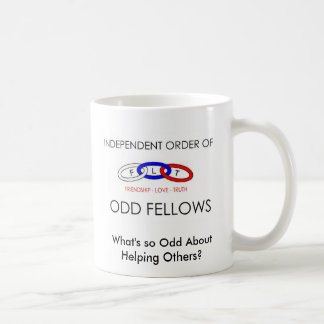 IOOF FLAG, What's so Odd AboutHelping Others? Coffee Mug