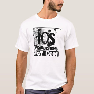 ios productions logo double stitch T-Shirt