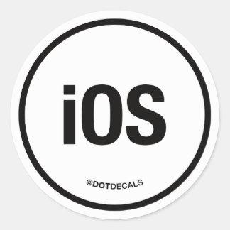 iOS Sticker