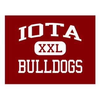 Iota - Bulldogs - Senior - Iota Louisiana Postcard