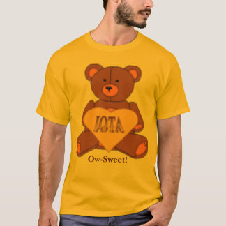 Iota Sweetheart Bear Logo, Ow-Sweet! T-Shirt