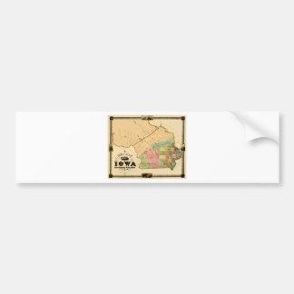Iowa 1845 bumper sticker