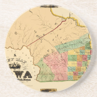 Iowa 1845 coaster