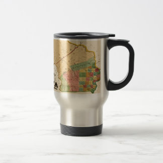 Iowa 1845 travel mug