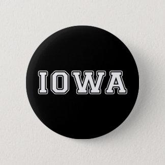 Iowa 2 Inch Round Button