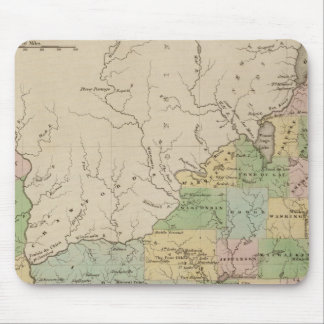 Iowa and Wisconsin Mouse Pad
