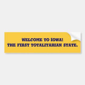 Iowa Bumper Sticker