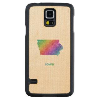 Iowa Carved Maple Galaxy S5 Case