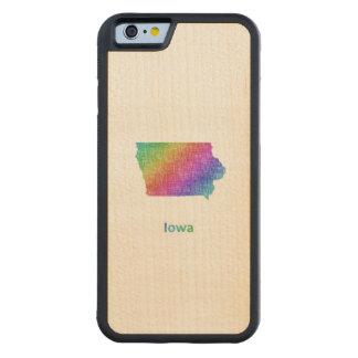 Iowa Carved Maple iPhone 6 Bumper Case