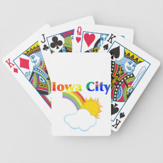 Iowa City Gay Rainbows Poker Deck